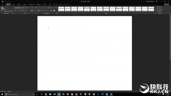 微软office 2016新版来袭 界面真酷图片
