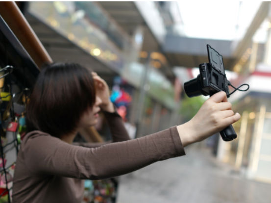 与索尼黑卡RX100M5A一起享受惬意的逛街时光