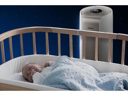 看得见闻得到的好空气 带给家中宝宝十全守护